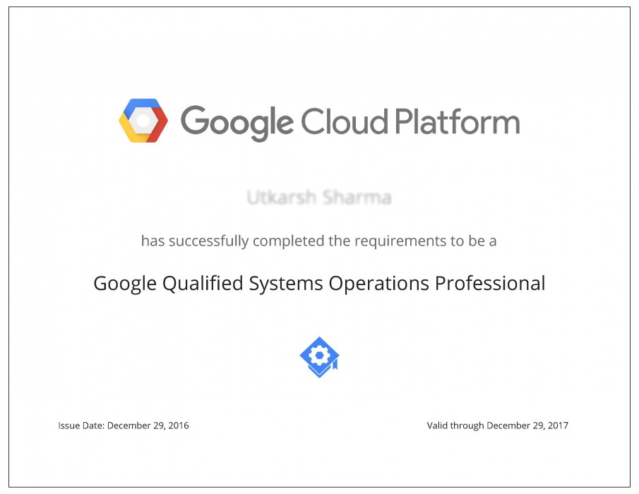 Google Cloud Platform Fundamentals Cp100a Certification Training