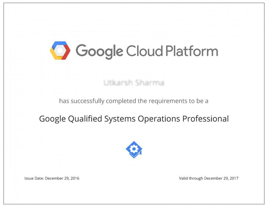 Google Cloud Platform Fundamentals Cp100a Certification Online
