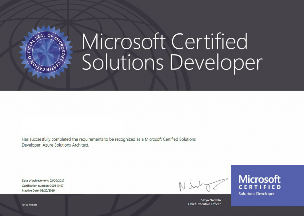Developing Microsoft Azure Solutions 70 532 Certification Training